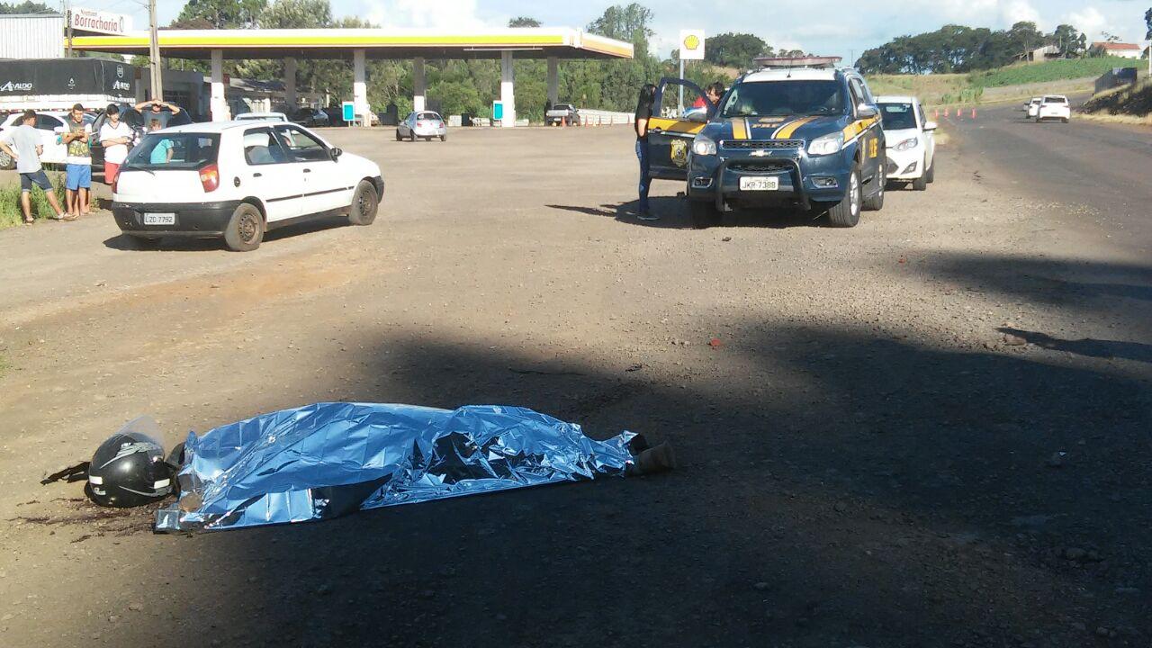 Motociclista morre em acidente na BR-163 em São José do Cedro