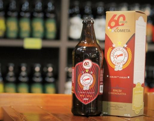 E.C. Cometa lançará cerveja e camisa comemorativa nesta sexta-feira