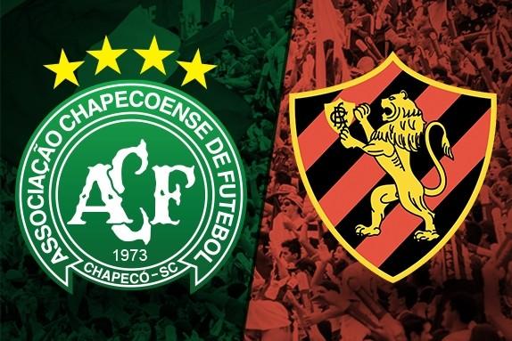 Chapecoense e Sport se enfrentam hoje pelo Brasileiro