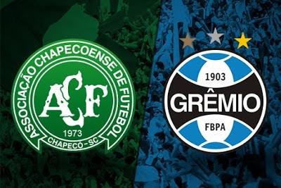 Peperi transmite neste domingo partida entre Chapecoense e Grêmio
