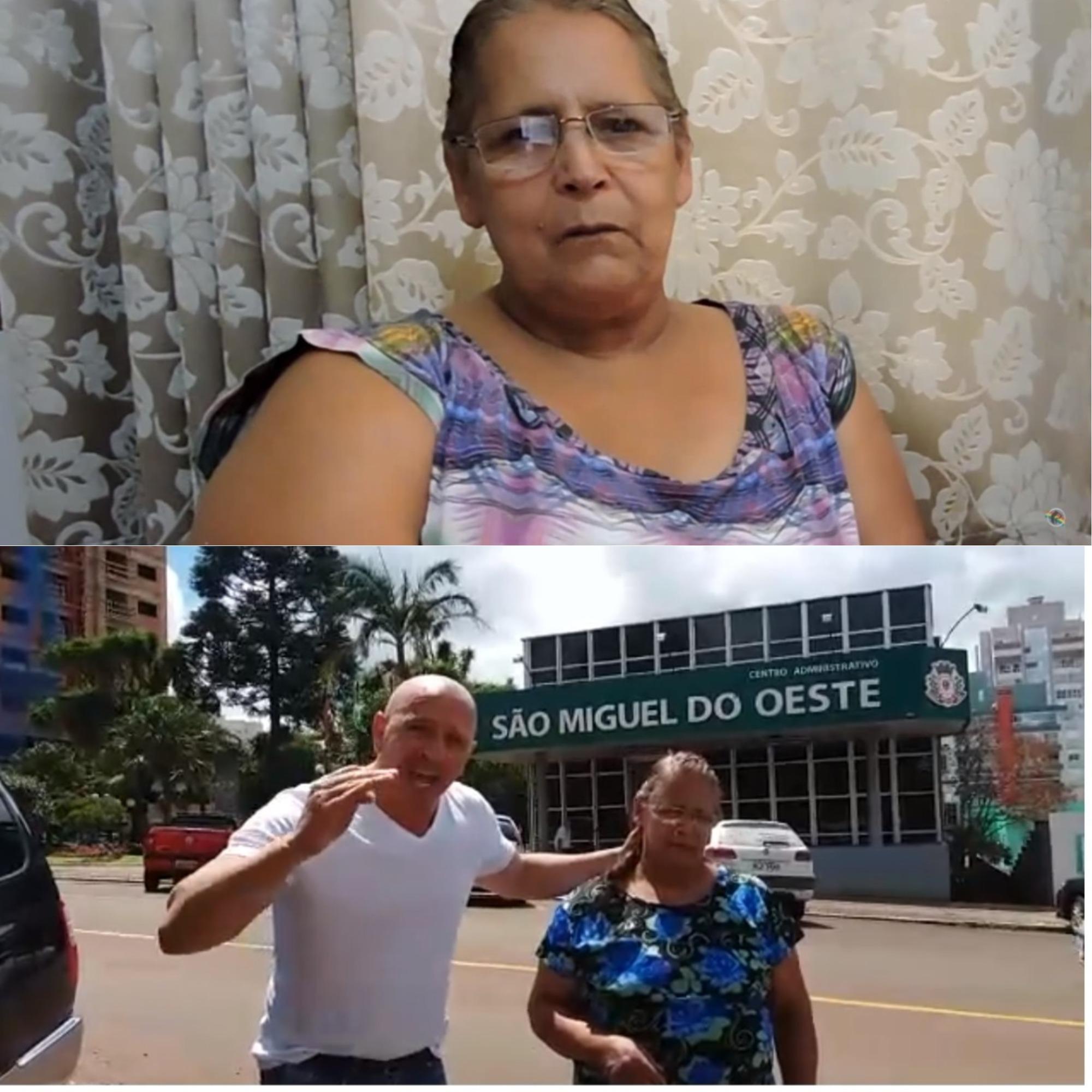 Família alega que idosa foi incluída em fila de espera a cirurgia após vídeo