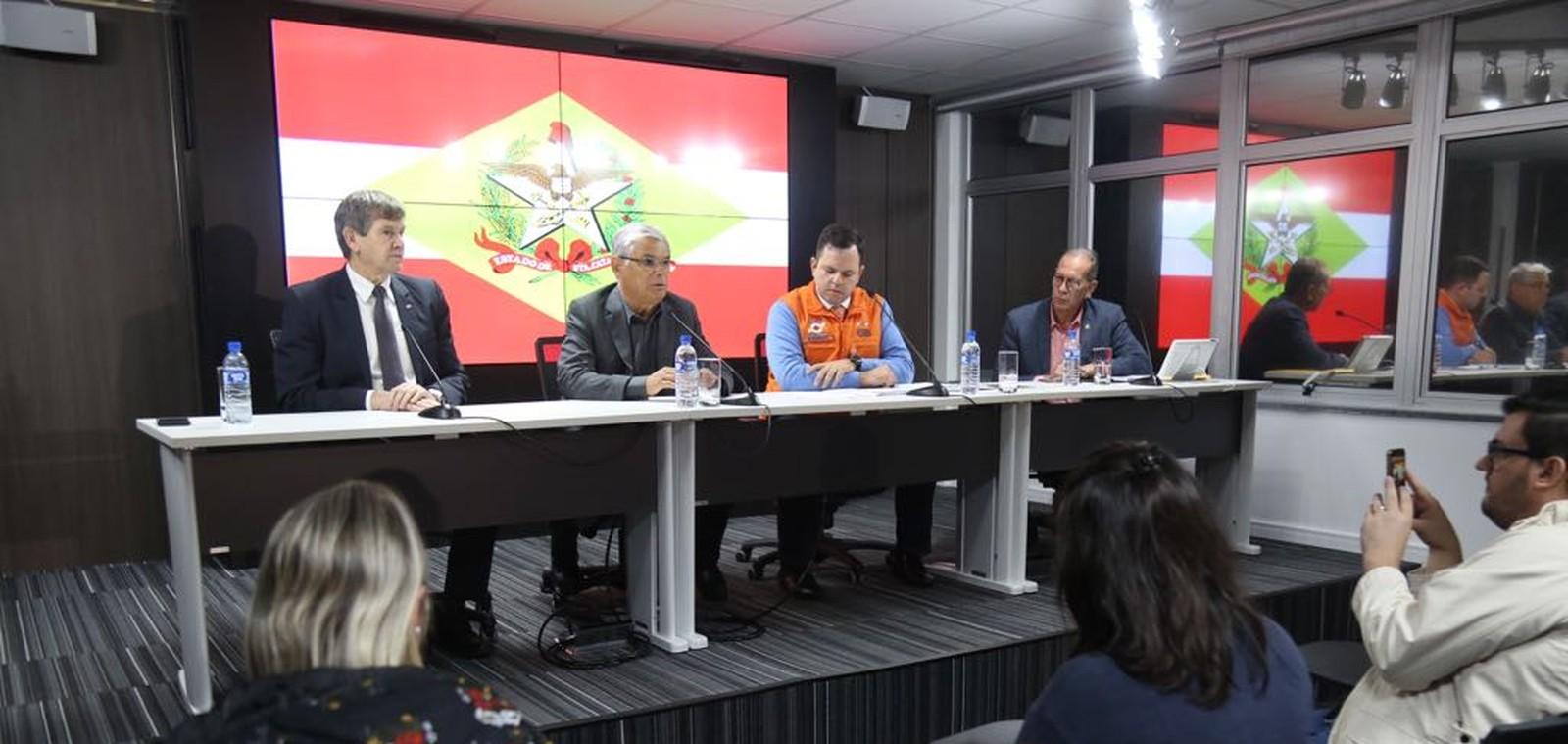 Governador descarta uso de forças federais contra protestos de caminhoneiros