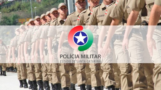 PM lança concurso para mil novos soldados em SC