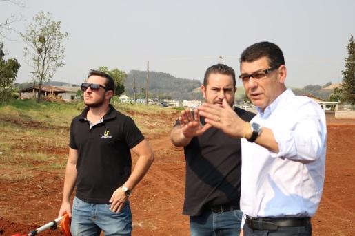 Iniciada preparação do terreno para construção do novo CTG Mate Amargo