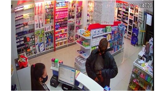 Homem confessa que roubou farmácia em Pinhalzinho para comprar bebida alcoólica