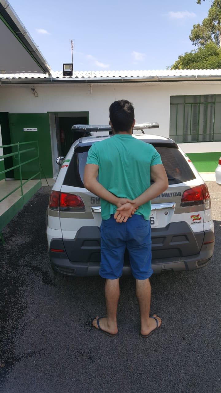Condenado por roubo é preso pela Polícia Militar
