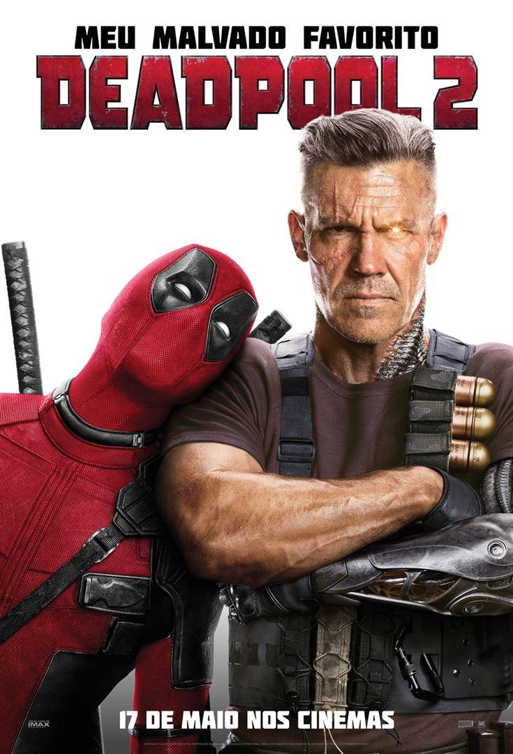 Deadpool 2 estreia hoje no Cine Peperi