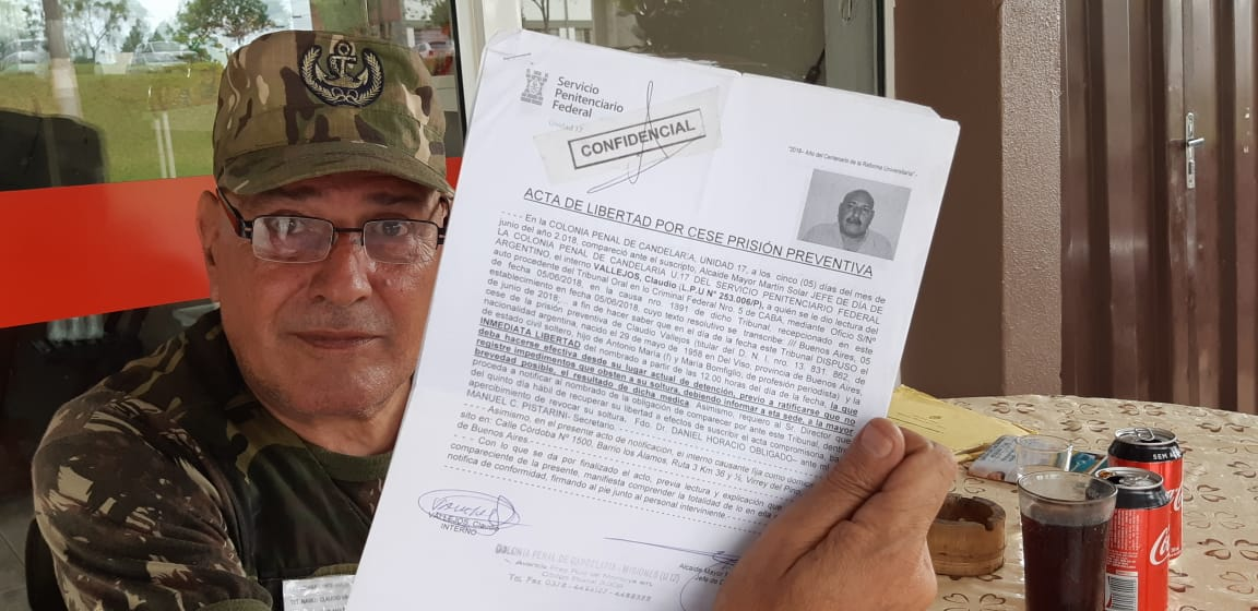 Argentino preso diz que Polícia Civil atuou de forma arbitrária