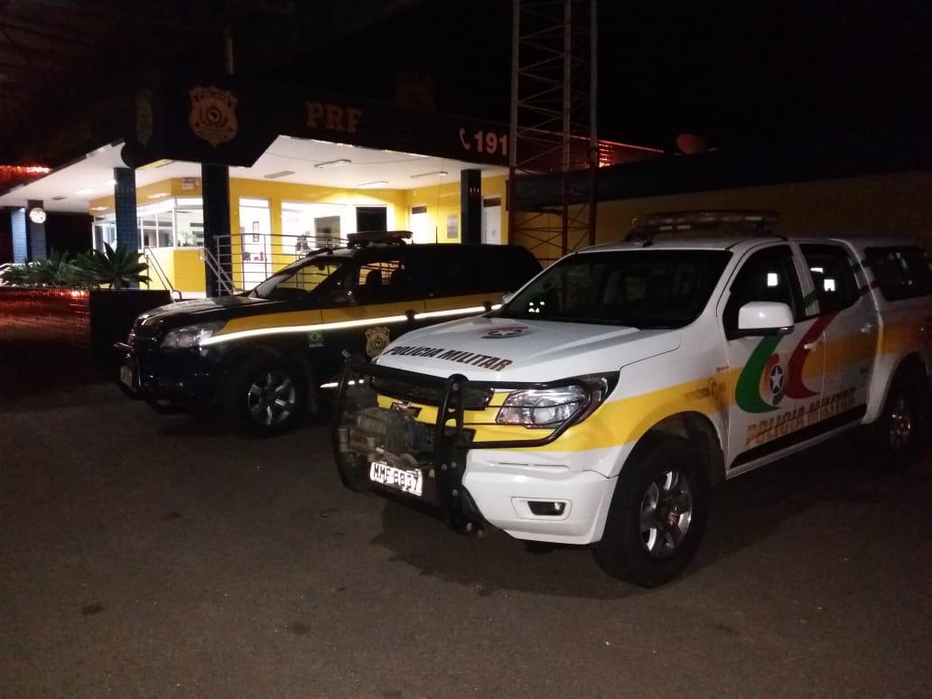 Polícia apreende mercadorias contrabandeadas em Guaraciaba
