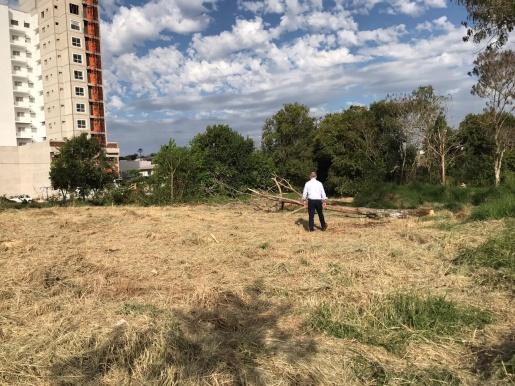Município inicia trabalhos para implantação de Praça Elevada no Agostini