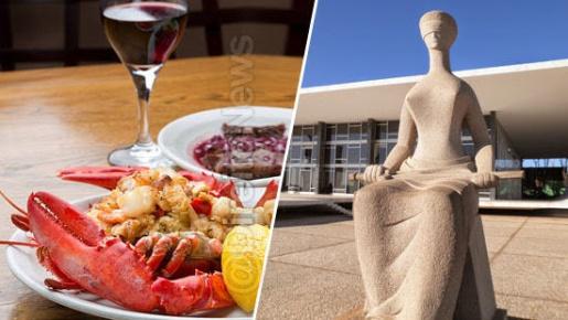 Juíza suspende licitação do STF que prevê compra de vinhos e lagosta