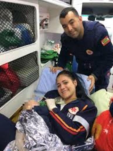 Bebê é salvo pelo SAMU após se engasgar e ficar sem sinais vitais em SC
