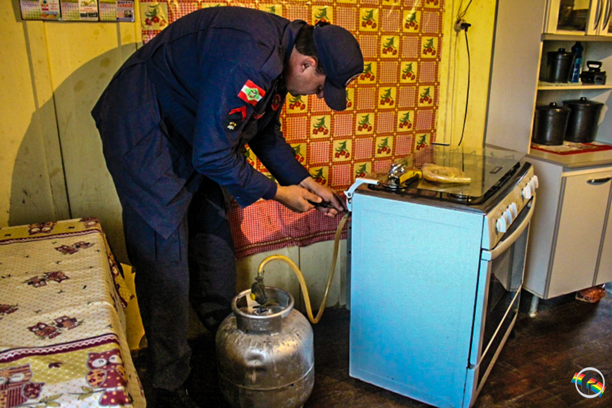 Corpo de Bombeiros faz orientações para evitar acidentes com vazamentos de gás