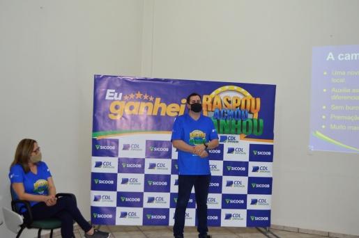 Lançada Oficialmente a Campanha Raspou, Achou, Ganhou CDL