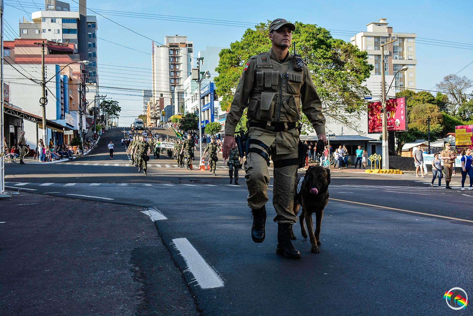 Peperi transmite desfile de sete de setembro em São Miguel do Oeste