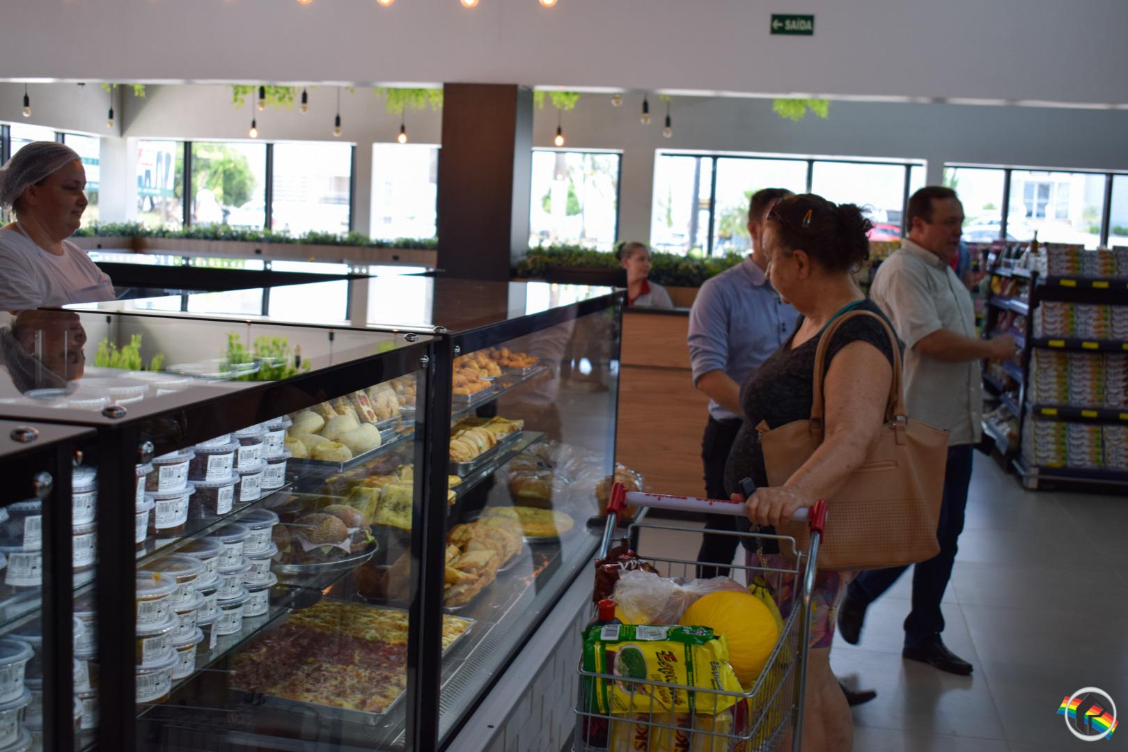 Filial do Super Treviso é inaugurada na Avenida Willy Barth