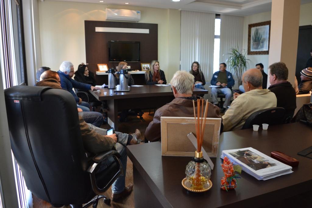 Comissão se reúne para discutir programação dos 60 anos do município