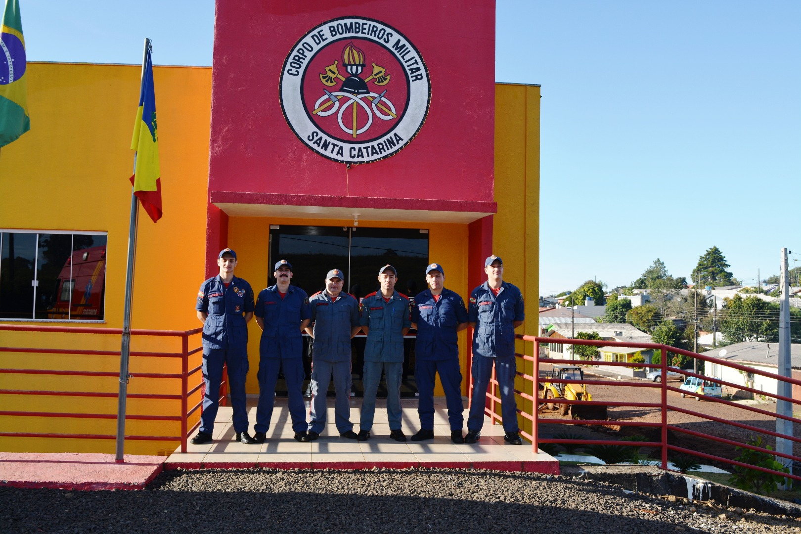 Corpo de Bombeiros comemora cinco anos de prestação de serviço