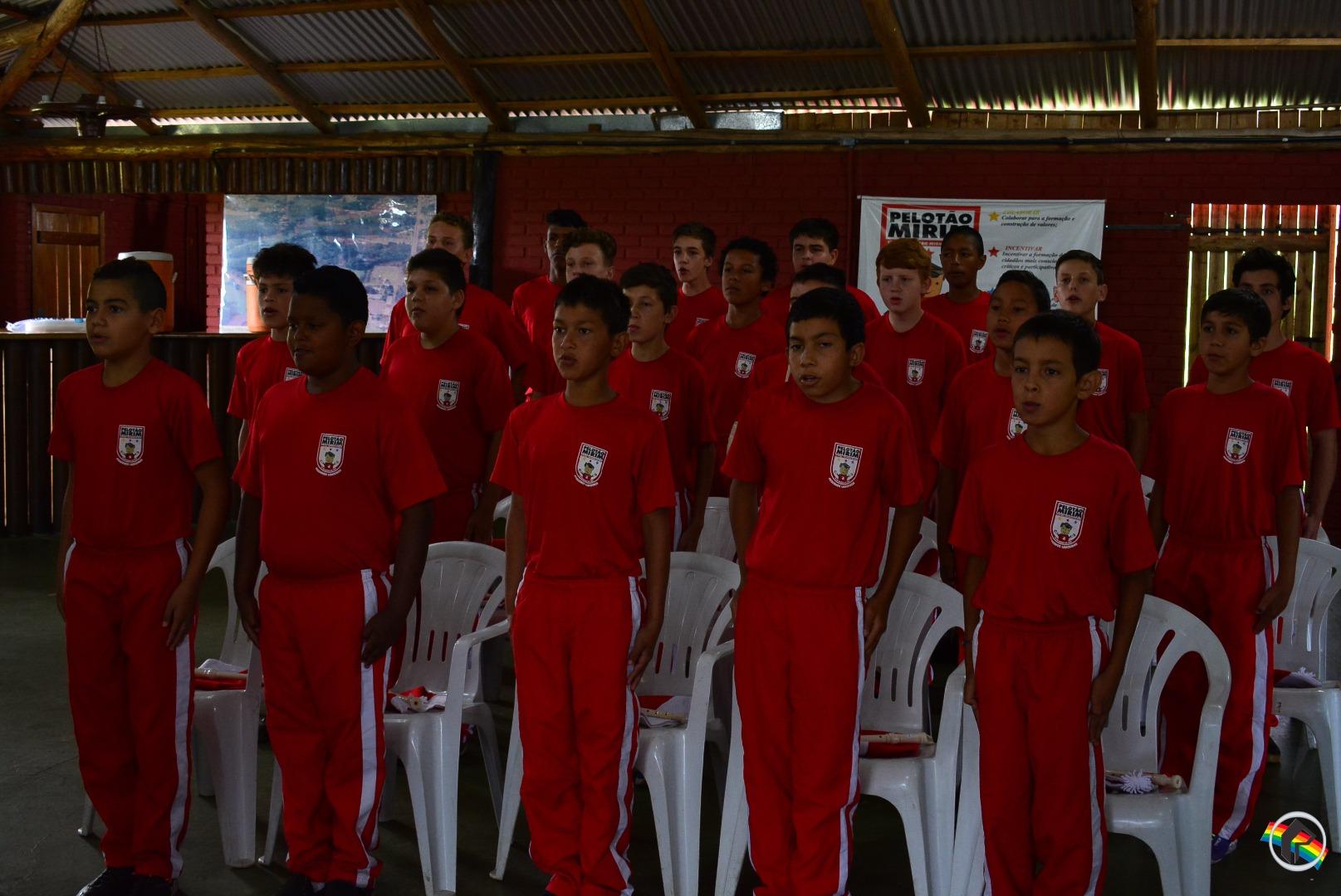 Mais uma turma do Pelotão Mirim é formada em São Miguel do Oeste
