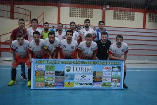 União São Francisco joga pela Copa Ric Record de Futsal