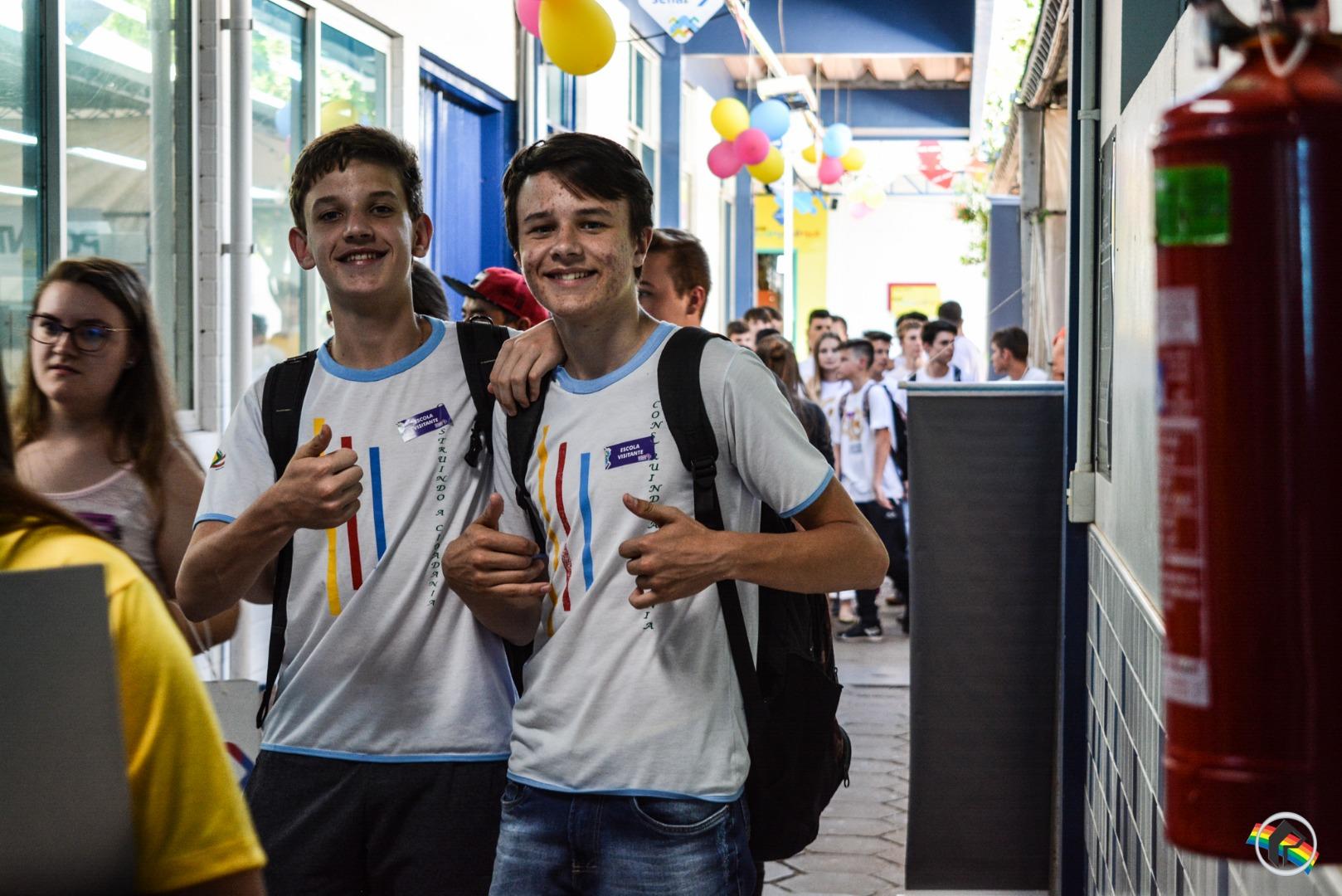 Mundo SENAI 2018 no município reúne mais de 40 projetos
