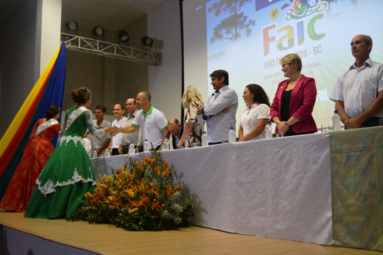 Lançamento da Sexta Faic São Domingos reúne autoridades e lideranças