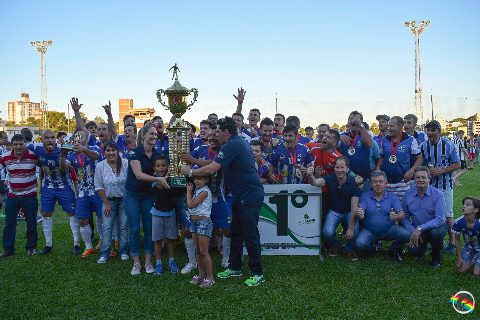 Internacional e Grêmio Guamerim são campeões do Municipal em São Miguel do Oeste