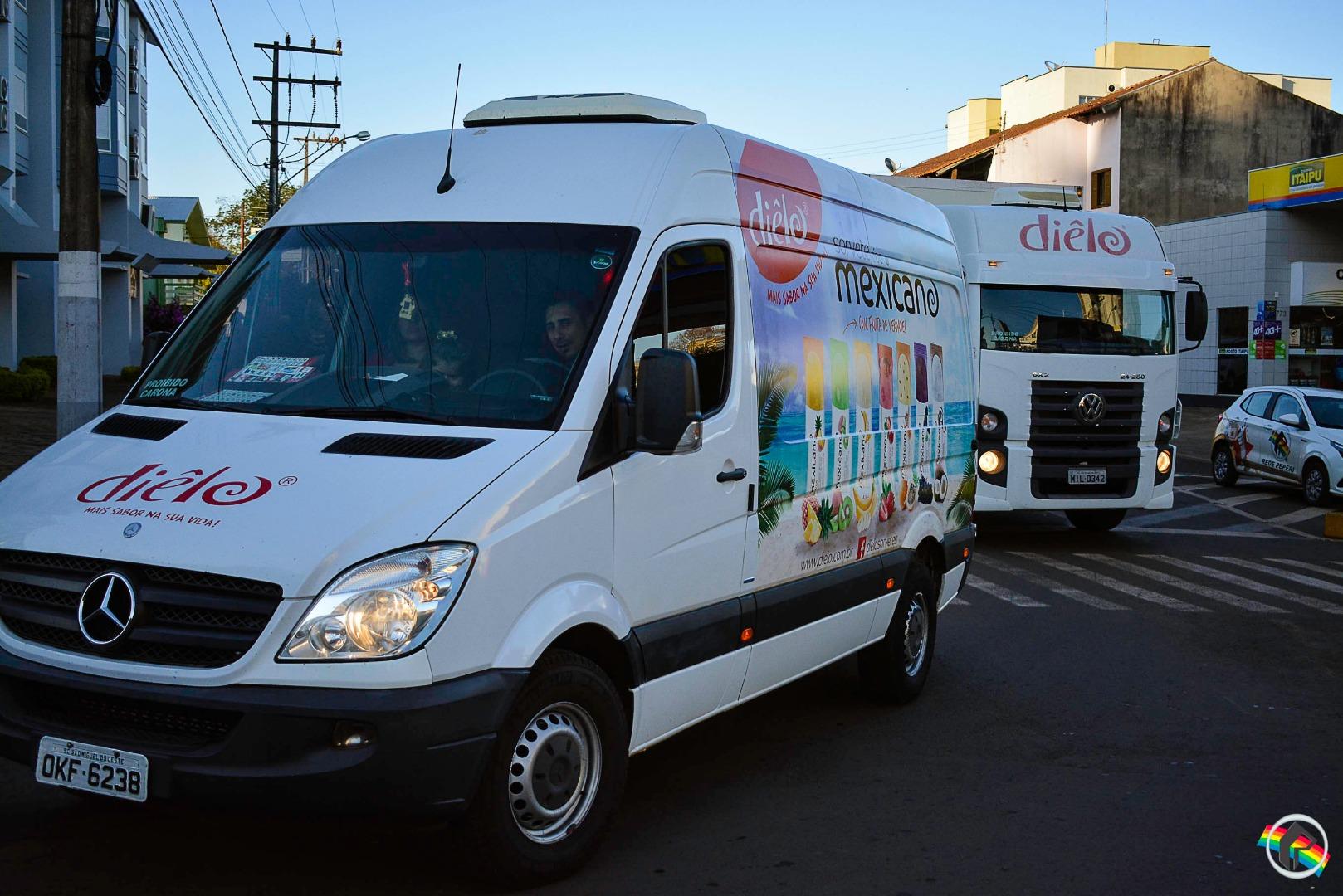 VÍDEO: Carreata em homenagem ao dia do Colono e Motorista em São Miguel do Oeste