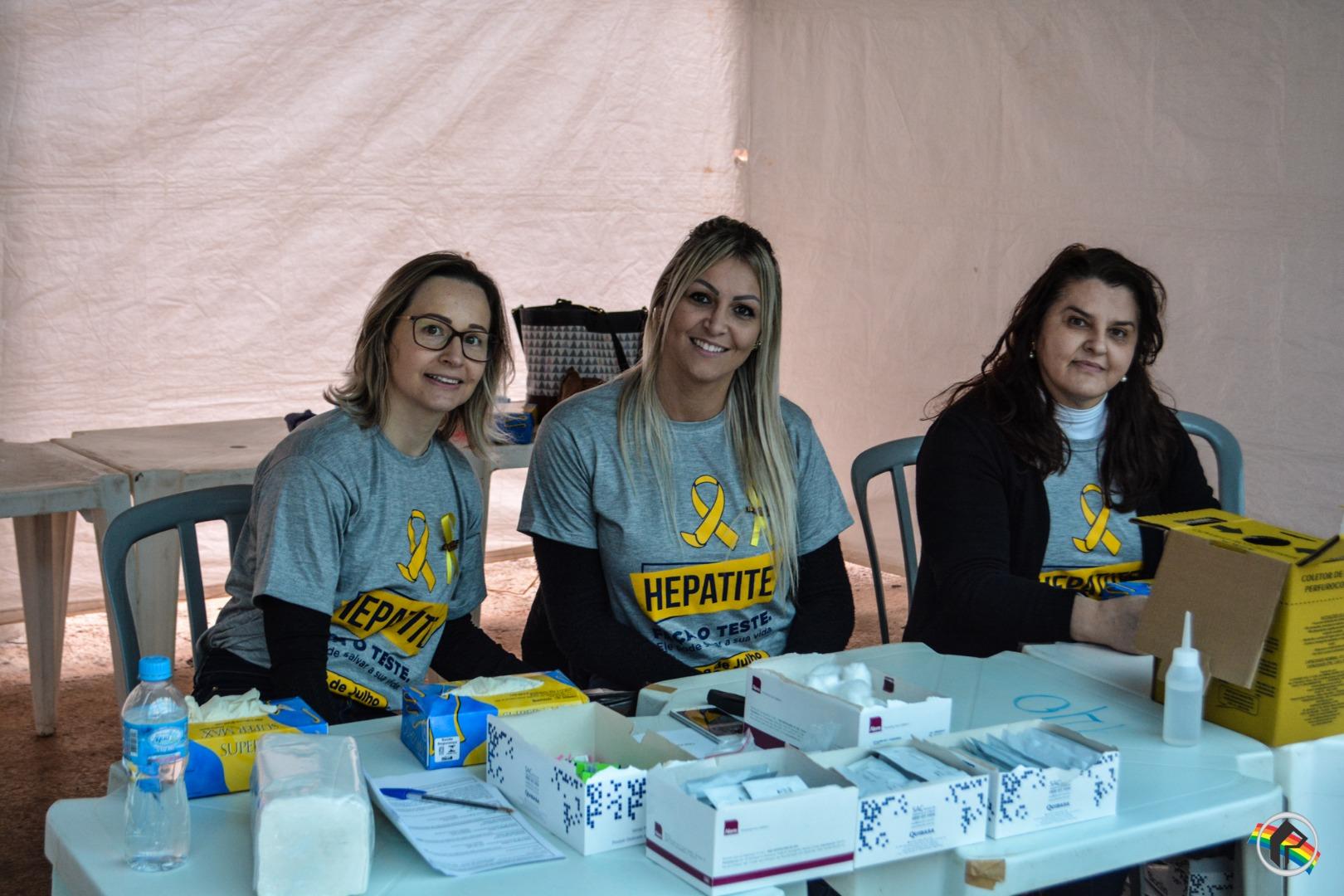 Mais de 2.000 pessoas devem fazer o teste de Hepatite B e C