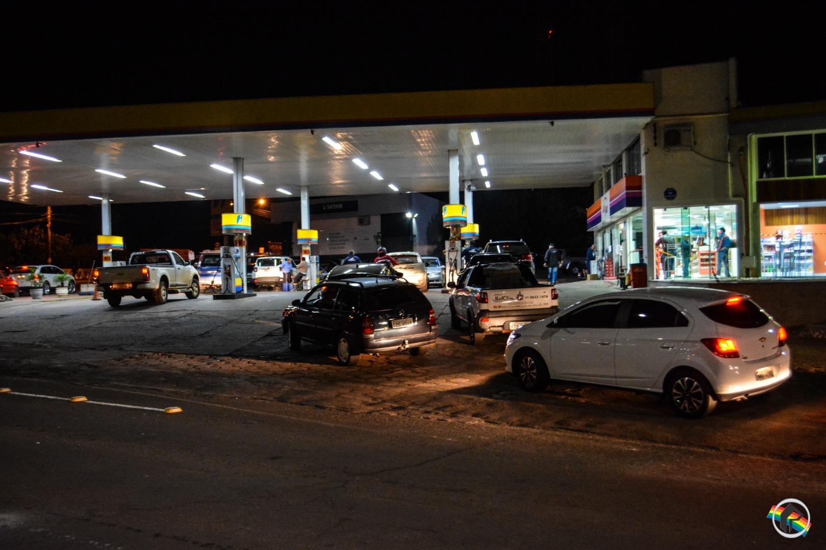 Aumenta o número de postos sem gasolina no município