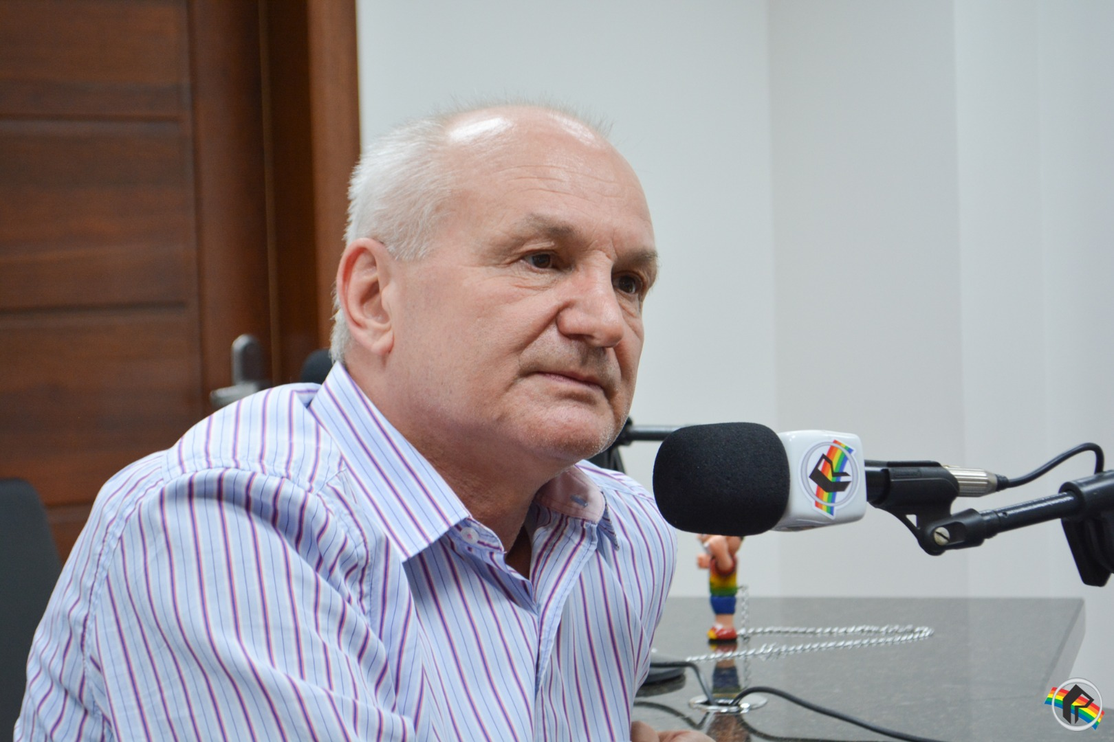 Senador e Deputados do PP visitam sede da Rede Peperi