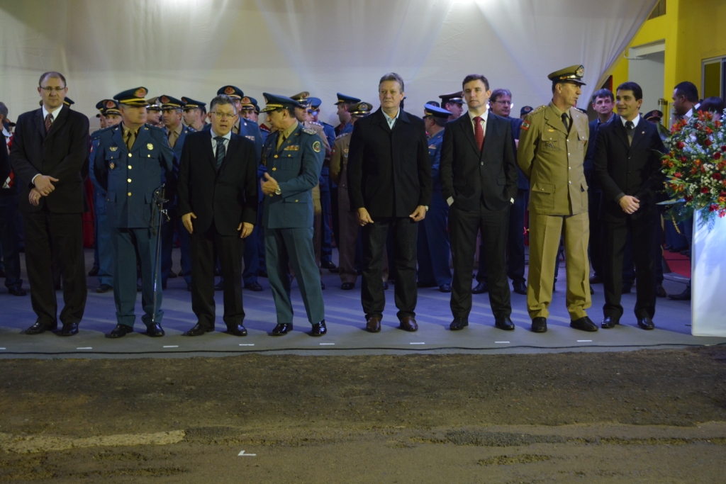 Cerimônia marca troca de comando do 12º Batalhão de Bombeiros
