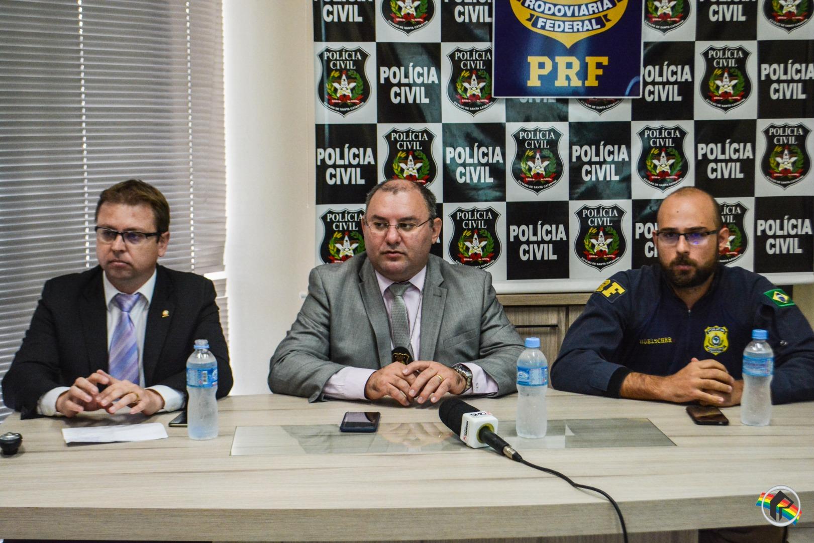 Polícia Civil desarticula grupo criminoso com atuação na região