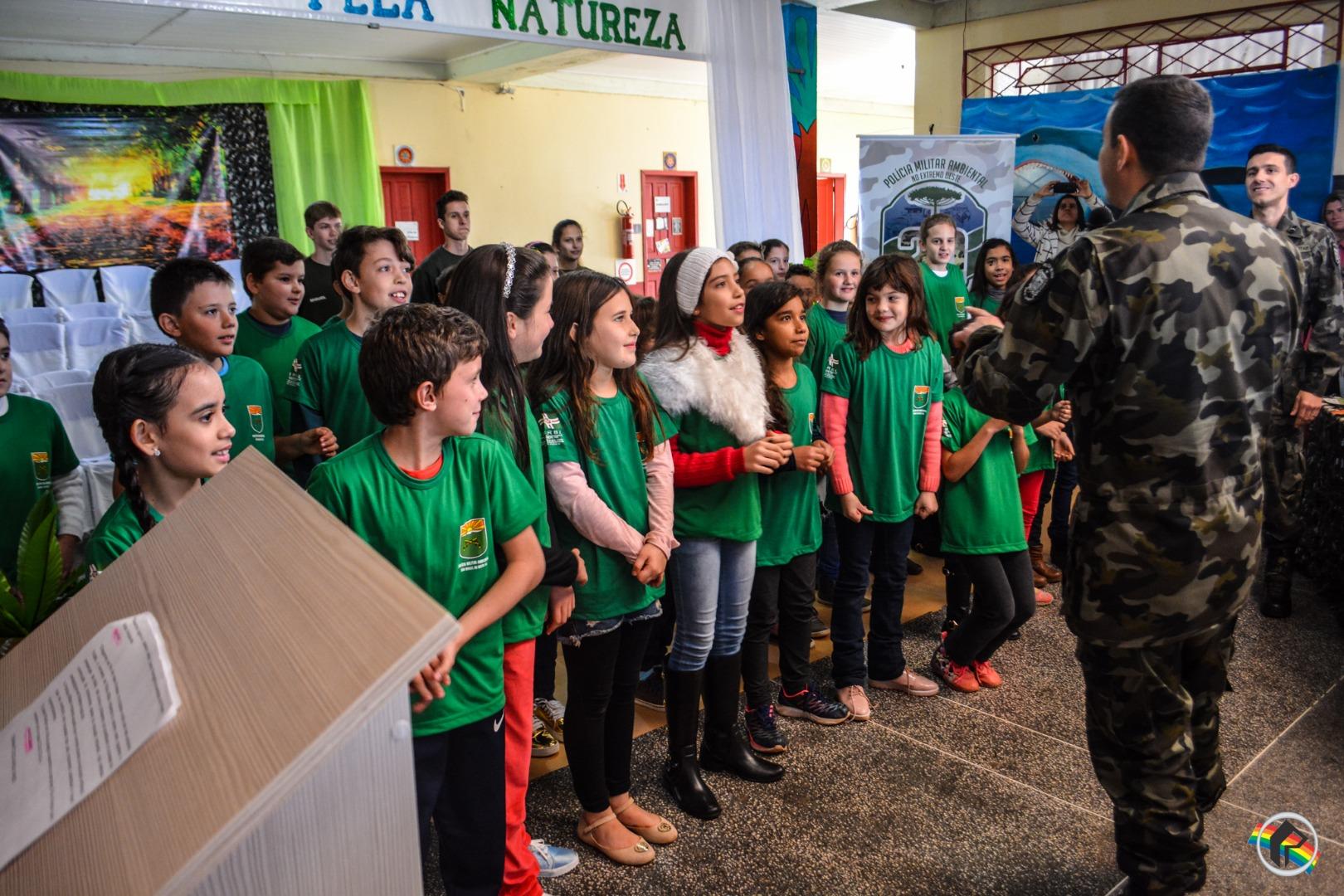Polícia Militar Ambiental realiza formatura do programa PUMA