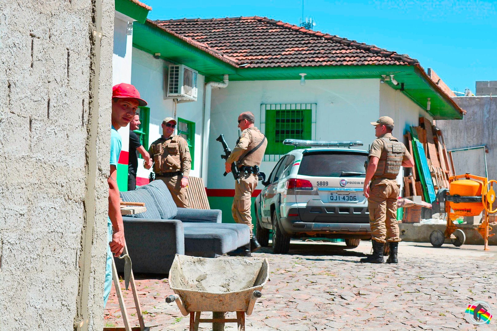 Foragidos da UPA de SJCedro são recapturados em SMOeste