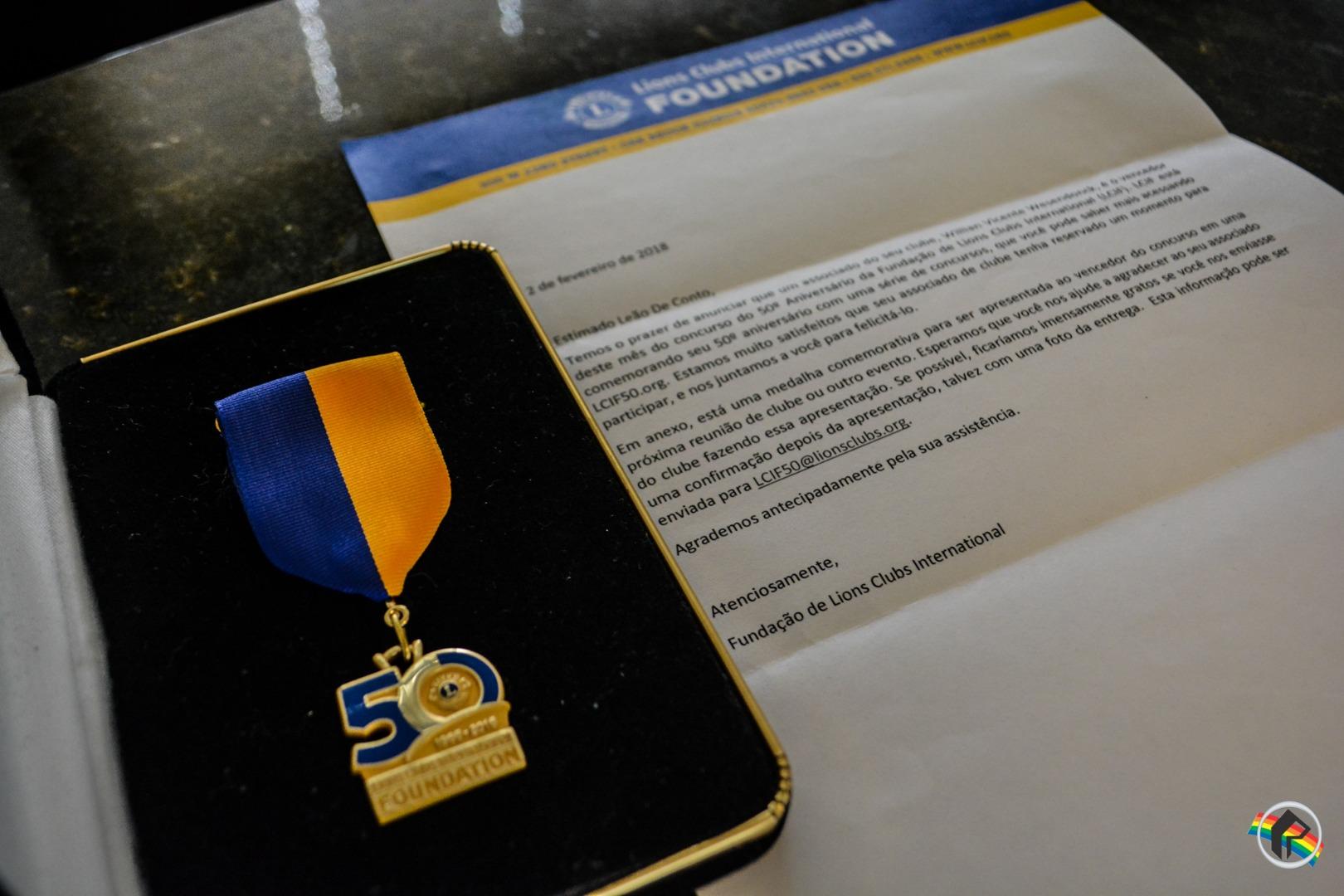 Integrante do LEO Clube vence concurso da Fundação de Lions Clubs Internacional