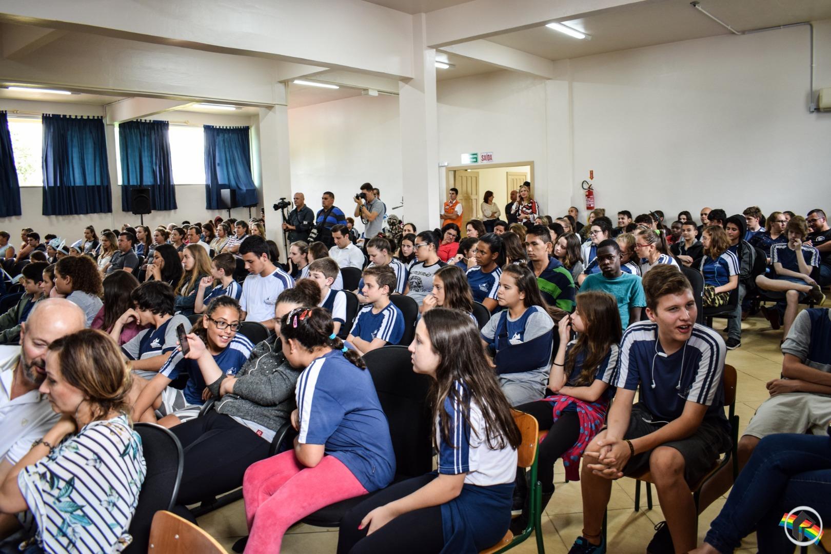 VÍDEO: Obra da Escola São Miguel é oficialmente inaugurada