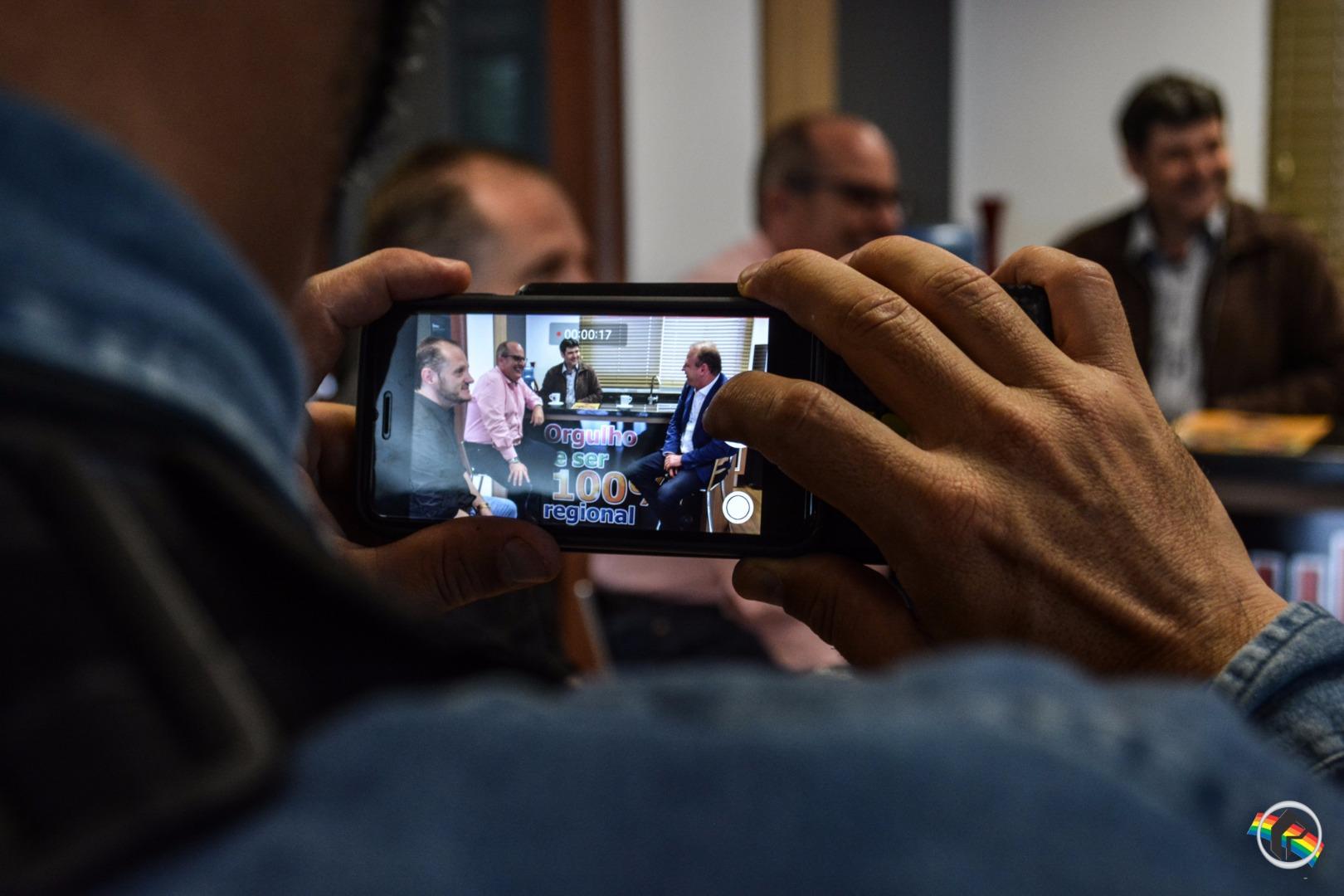 Deputado Gelson Merisio visita a Rede Peperi