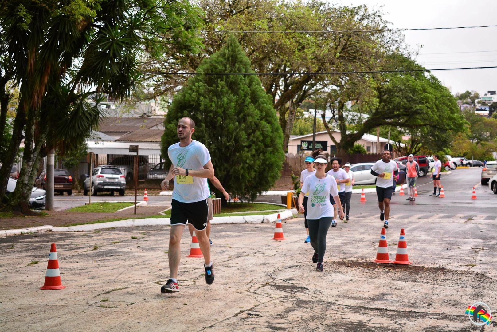 Etapa de São Miguel do Oeste da Corrida do Bem reúne mais de 640 atletas
