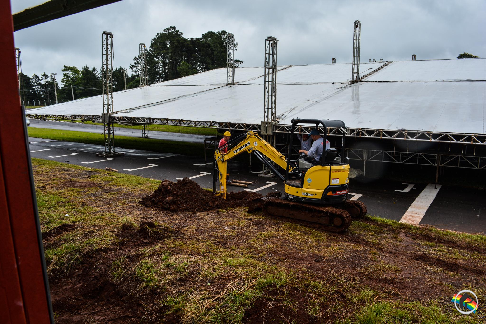 Arena de shows da Faismo terá capacidade para mais de 12 mil pessoas