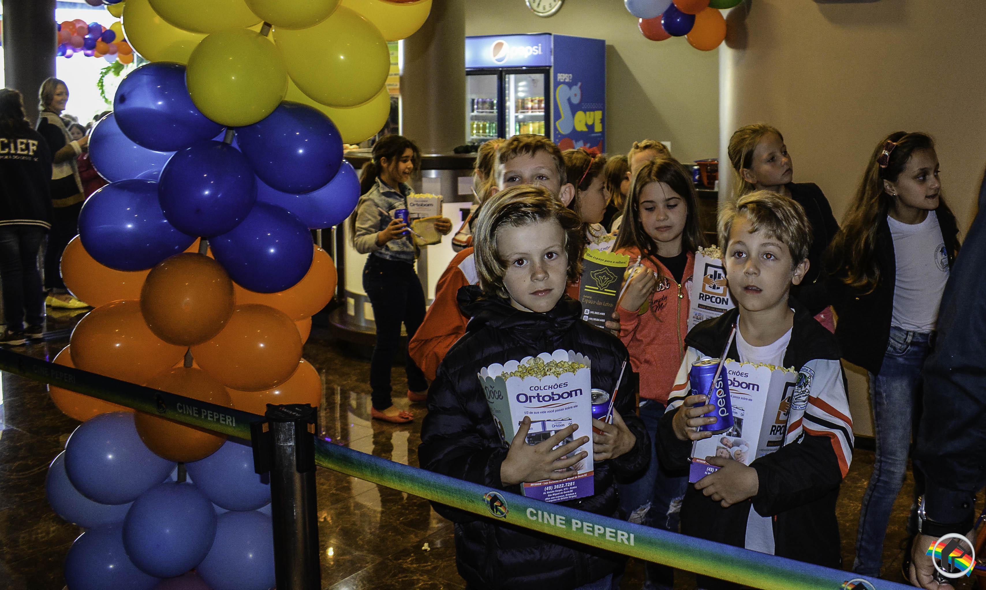 Cine Peperi tem programação especial para o mês da criança