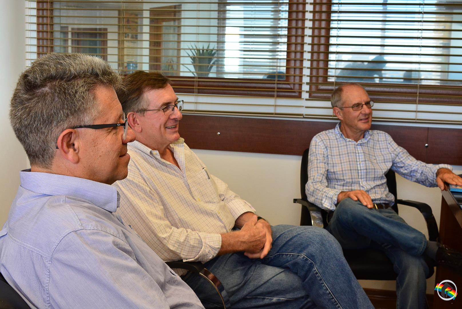 Lideranças do Partido Progressista visitam sede da Rede Peperi