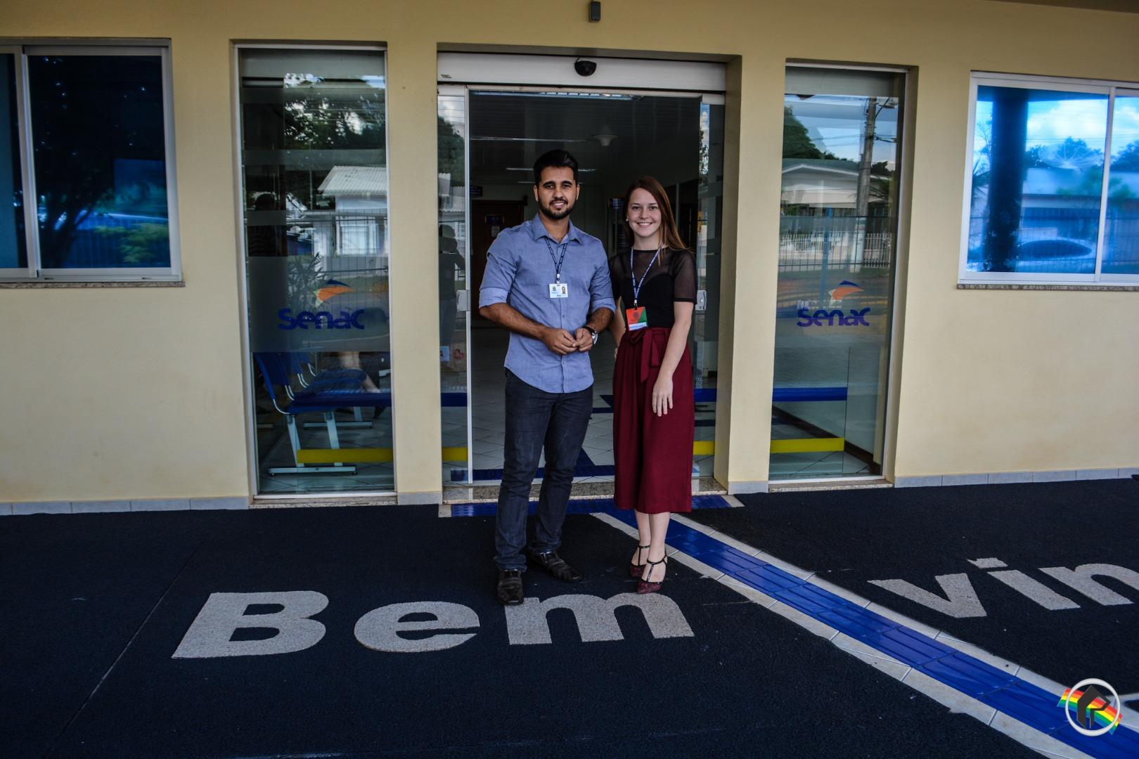 Cartório Eleitoral realiza palestra para alunos do SENAC no município