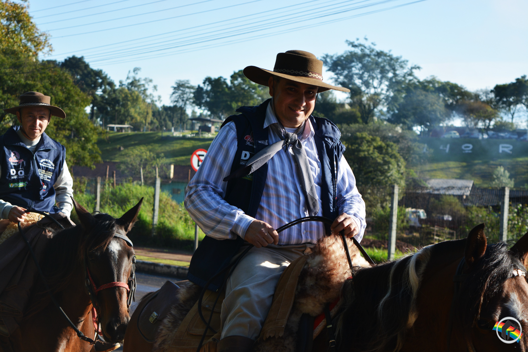 1ª Cavalgada Unidos na Tradição reúne 12 cavalarianos