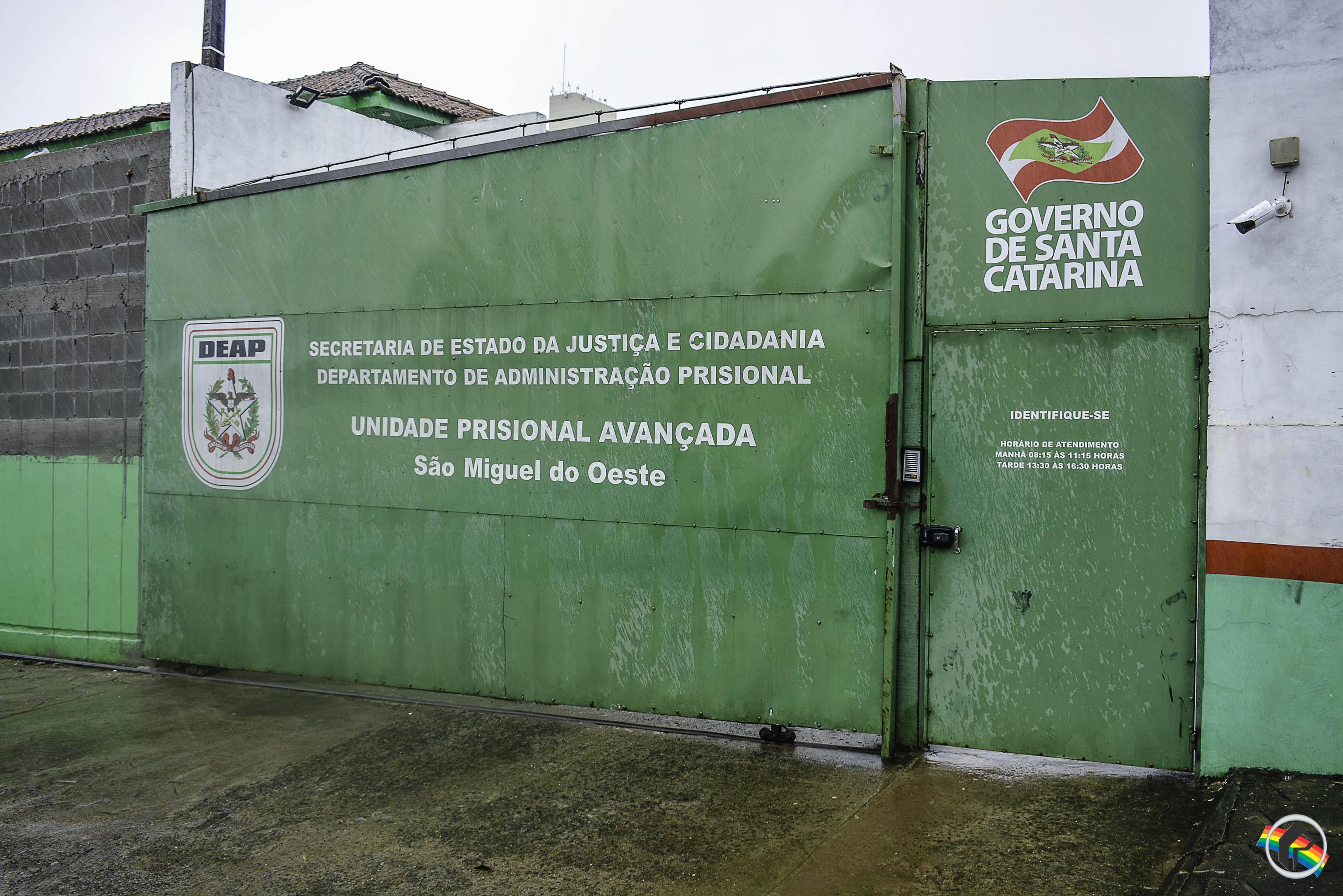 Apenados da UPA de São Miguel do Oeste não vão votar no pleito de 2018