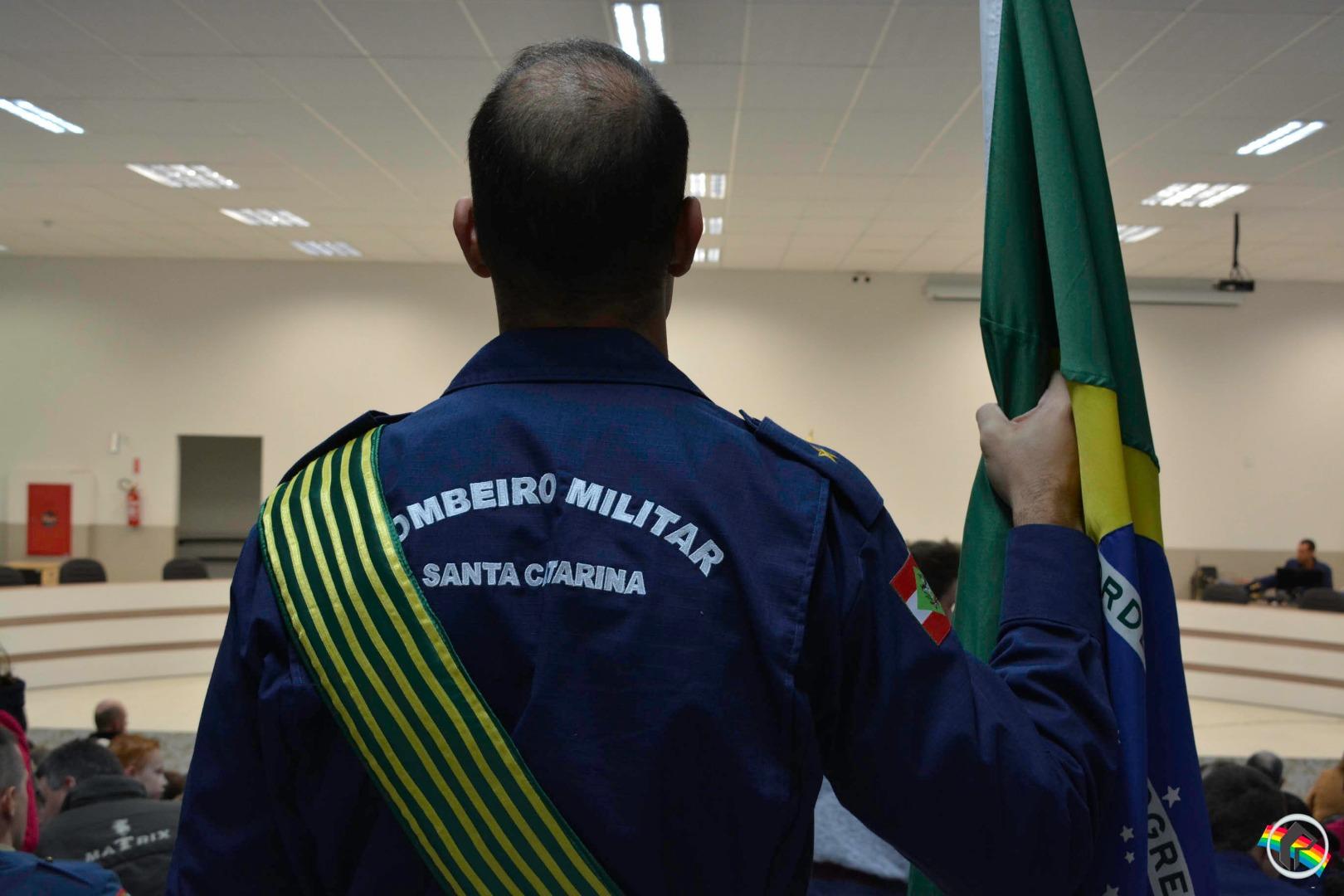 Solenidade de promoção e formação marca 15 anos de emancipação institucional do CBSC