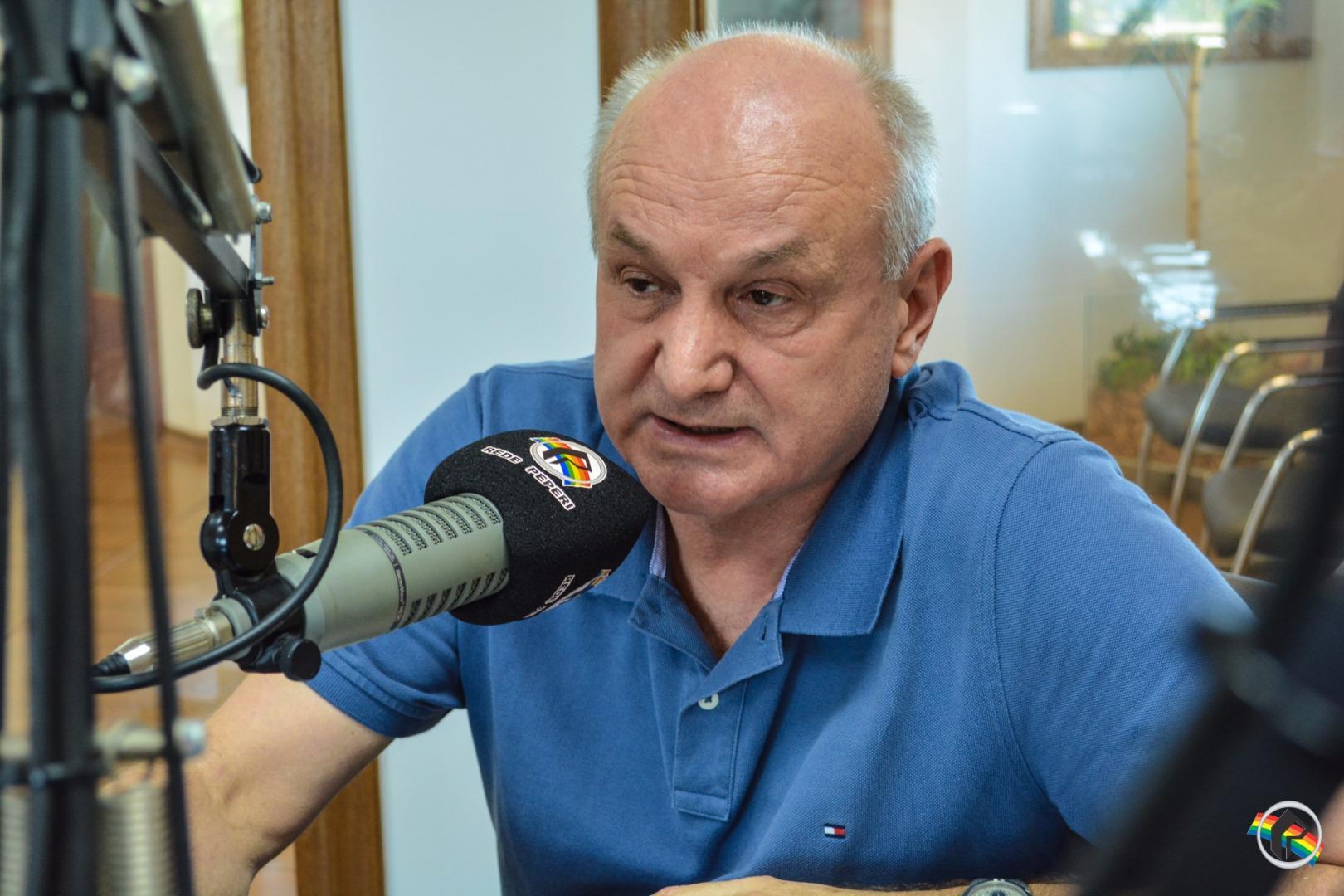 Peperi recebe o delegado regional de Polícia Civil