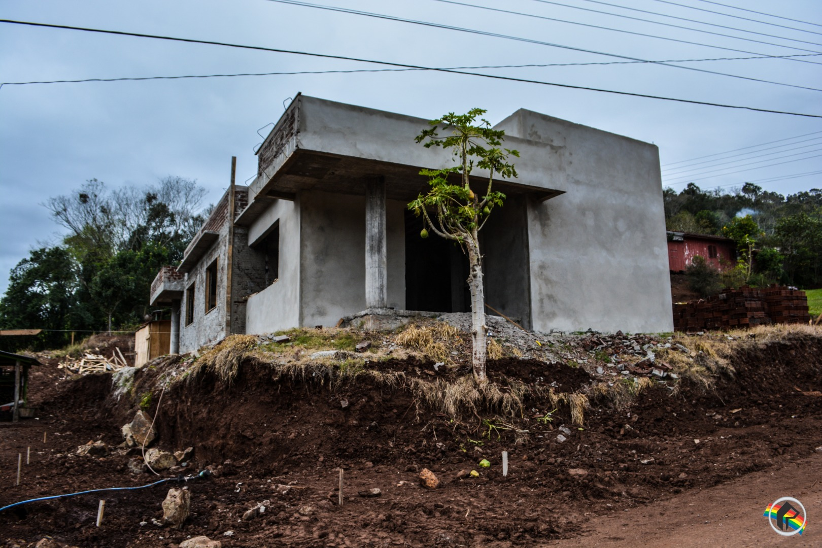 Obra do novo Cras de Barra Bonita está parada há quase um mês