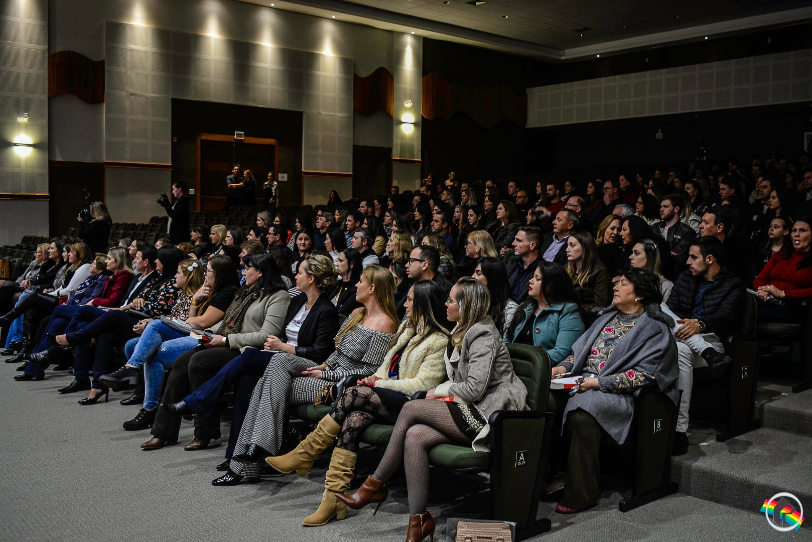 Léo Chaves apresenta palestra motivacional em São Miguel do Oeste