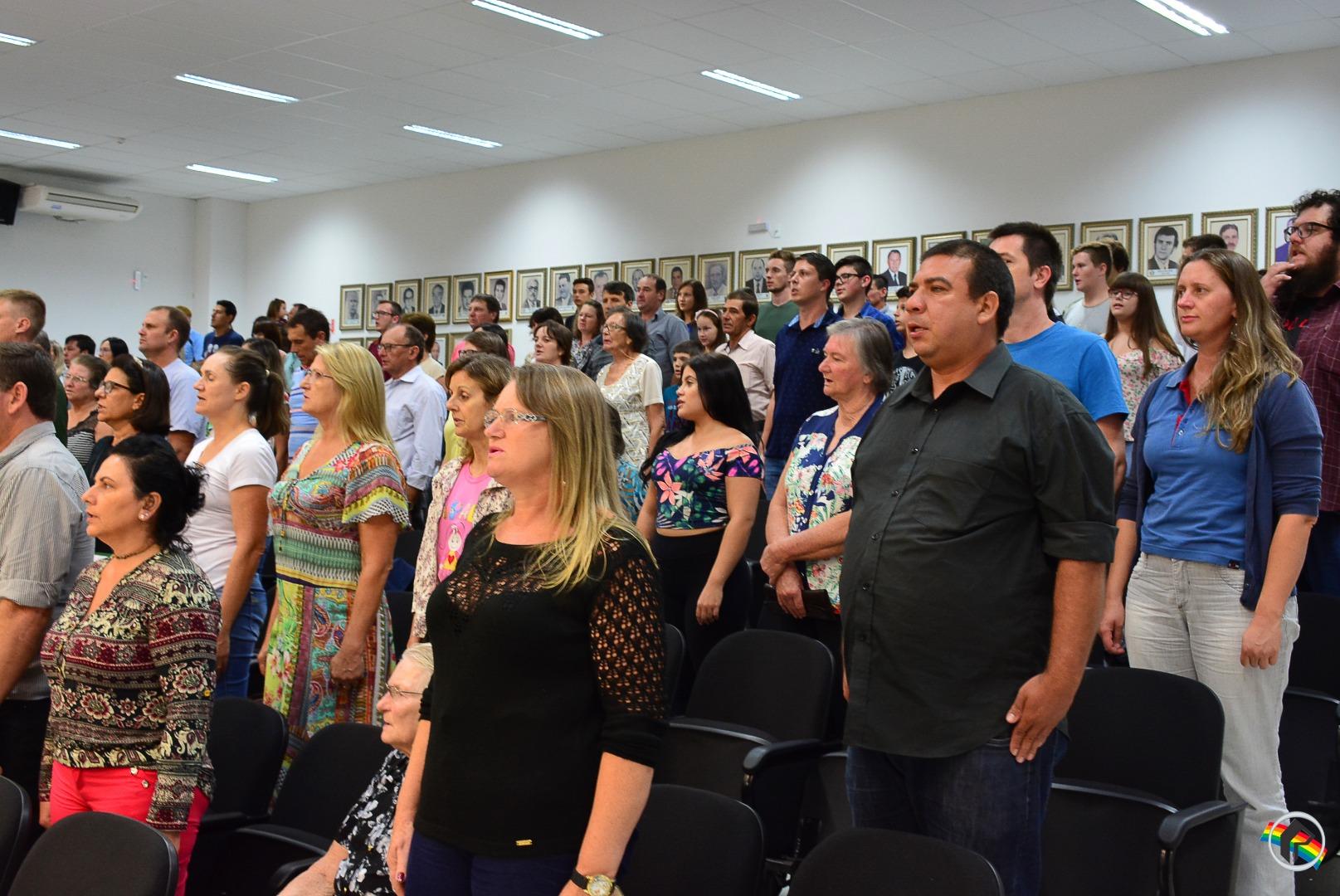 Vereadores Mirins de São Miguel do Oeste são empossados
